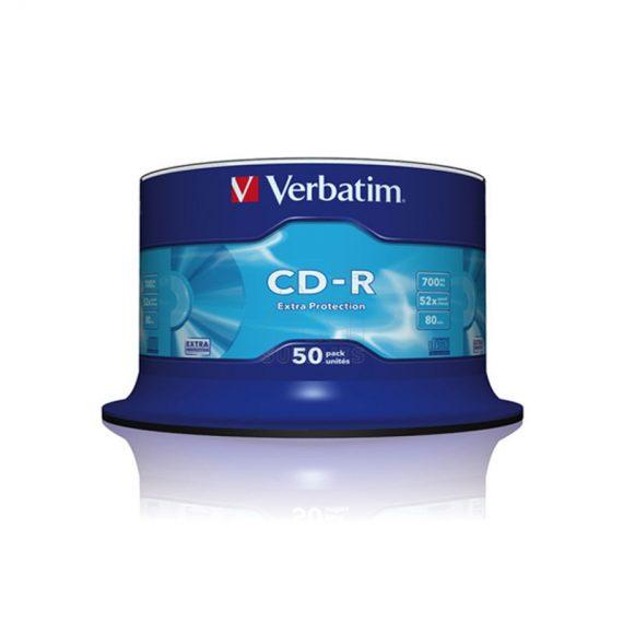 CD-R 700MB VERBATIM 52X CAKE (50 τμχ)