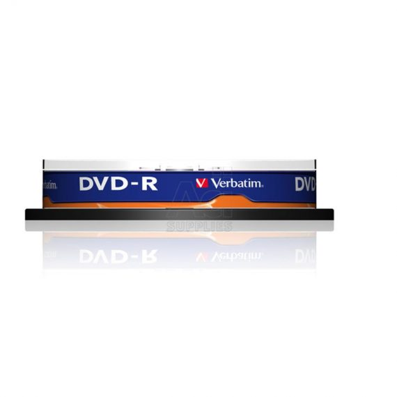 DVD- R 4.7 GB VERBATIM 16X CAKE (10 τμχ)