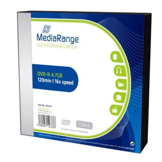 DVD- R 4.7 GB MEDIARANGE 16X SLIMCASE