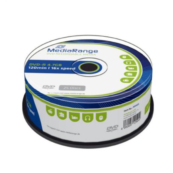DVD- R 4.7 GB MEDIARANGE 16X CAKE (25 τμχ)