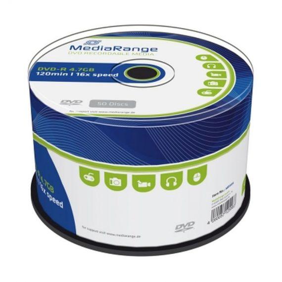 DVD- R 4.7 GB MEDIARANGE 16X CAKE (50 τμχ)