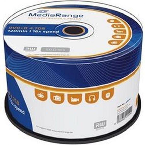DVD+ R 4.7 GB MEDIARANGE 16X CAKE (50 τμχ)