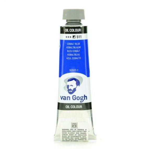 ΛΑΔΙΑ TALENS VAN GOGH 20ml COBALT BLUE (511)