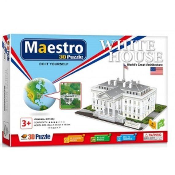 ΠΑΖΛ 3D (60 τμχ) THE WHITE HOUSE