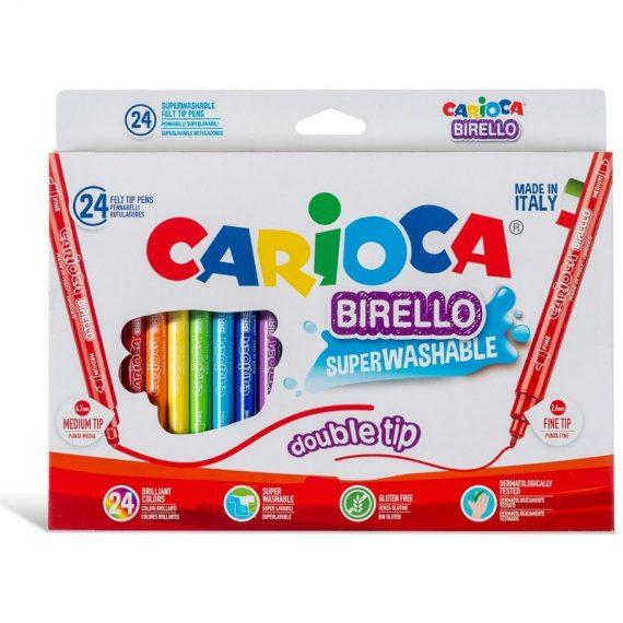ΜΑΡΚΑΔΟΡΟΙ CARIOCA BIRELLO (24 τμχ) (41521)