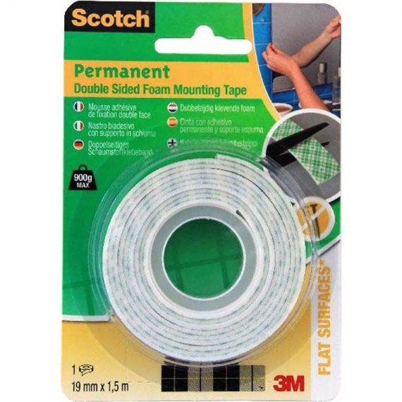 ΣΕΛΟΤΕΙΠ SCOTCH 3M PERMANENT Δ.Ο. 19mm X 1.5