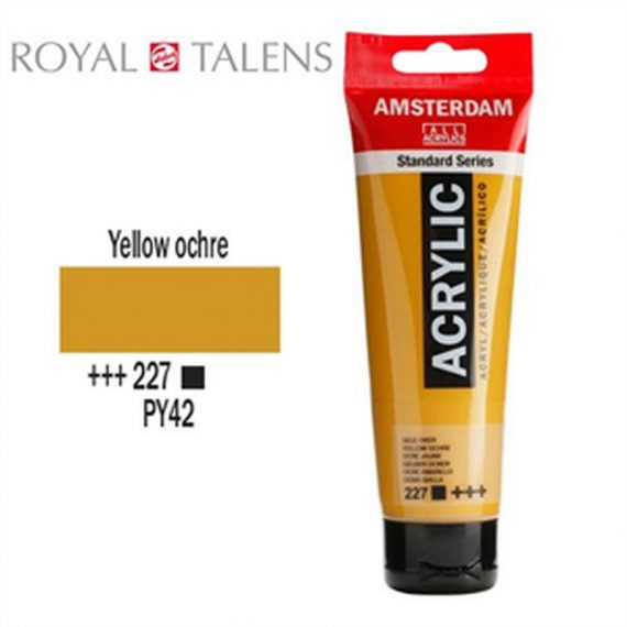 ΑΚΡΥΛΙΚΑ TALENS AMSTERDAM 120 ml YELLOW OCHRE (227)