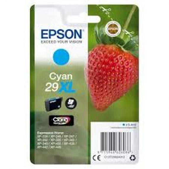 ΜΕΛΑΝΙ EPSON SERIES 29 CYAN XL (C13T299240)
