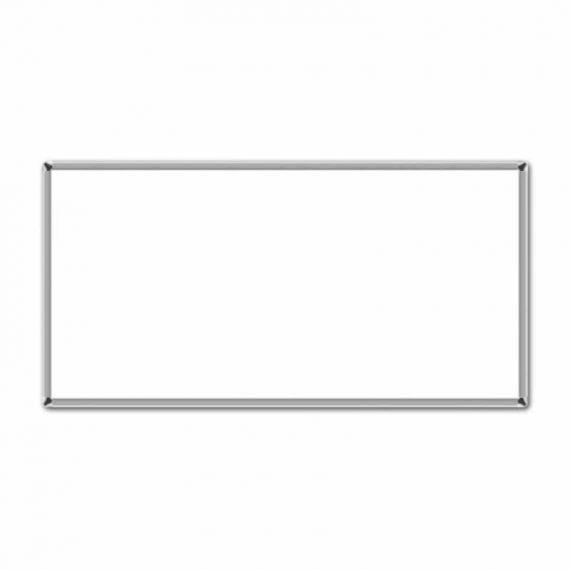 ΠΙΝΑΚΑΣ ΛΕΥΚΟΣ 100Χ200 ΑΛΟΥΜΙΝΙΟ (10100200)