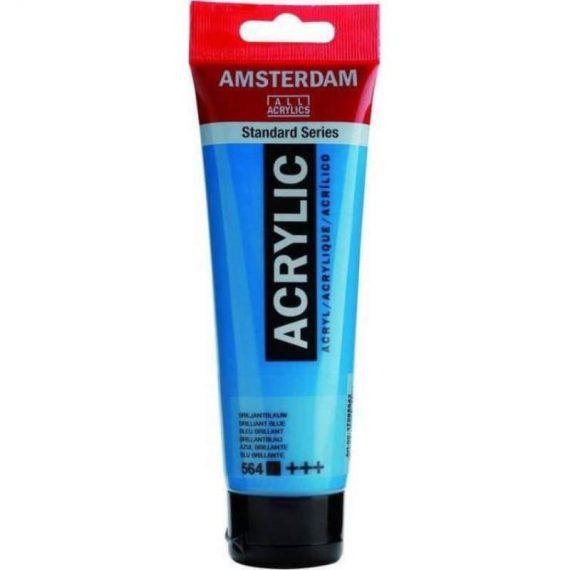 ΑΚΡΥΛΙΚΑ TALENS AMSTERDAM 120ml BRILLIANT BLUE (564)